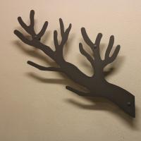 Knagerække grenen i koksgrå - AmorDesign