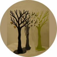 Smykketræer i forskellige farver