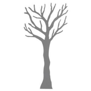 Knagerækkr TøjTræet 2 meter grå