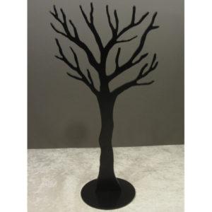 Smykketræ opbevaring i sort
