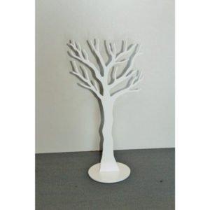 SmykkeTræ opbevaring i hvid