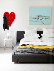 Soveværelse med TøjHjerte