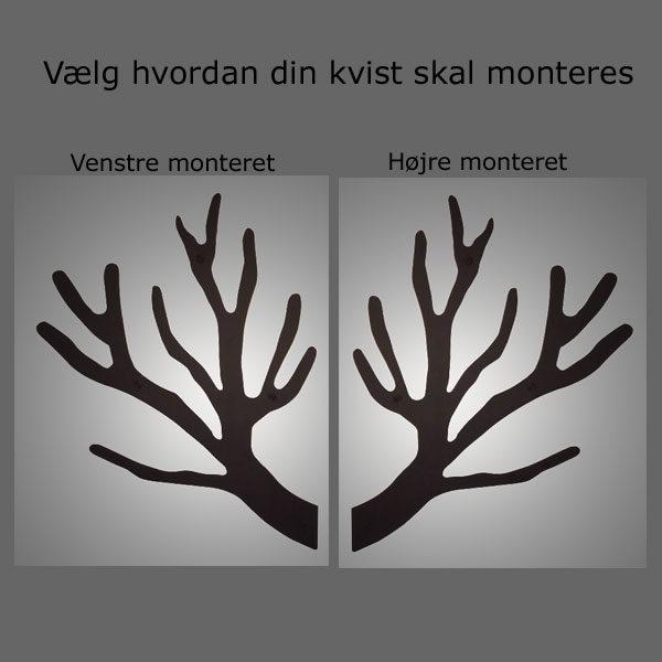 LED lys til TøjTræ gren