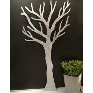 vægdekoration Galvaniseret træ