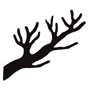 Tøjtræet grenen