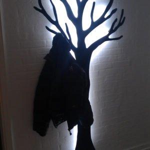 Knagerøkke LED lys til TøjTræ