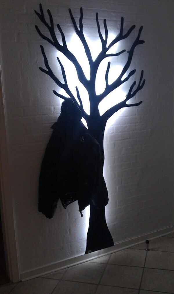 Knagerække træet