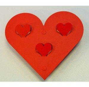 knagerække hjerte fra AmorDesign