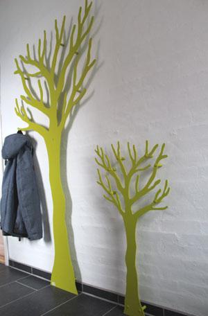 Børne-TøjTræ-limegrøn