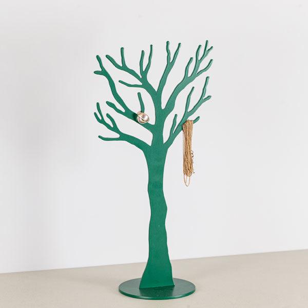 Smykke træ i grøn med smykke