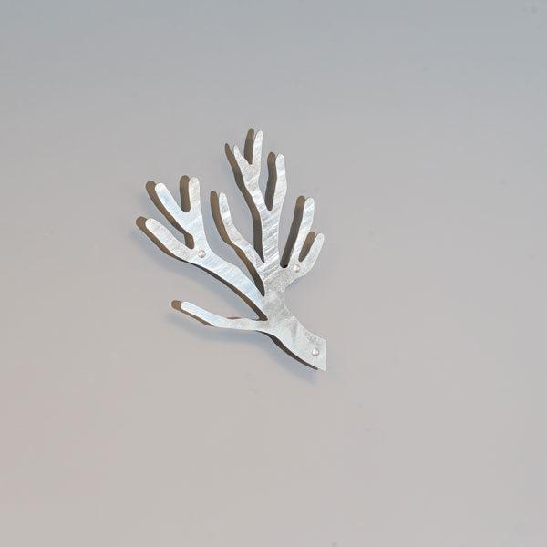 Knag galvaniseret Tøjtræet kvist