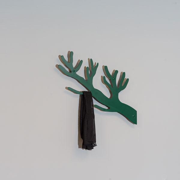 Knagerække grøn gren