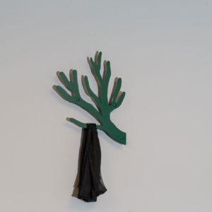 Knag grøn kvist
