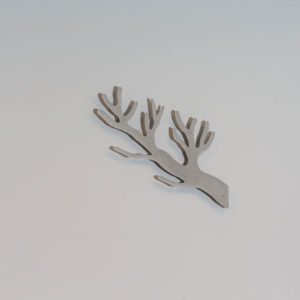 Knag gren grå