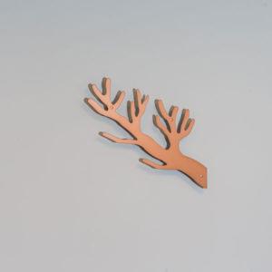 Knag i kobber gren