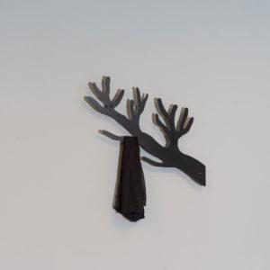 Knagerække gren i sort