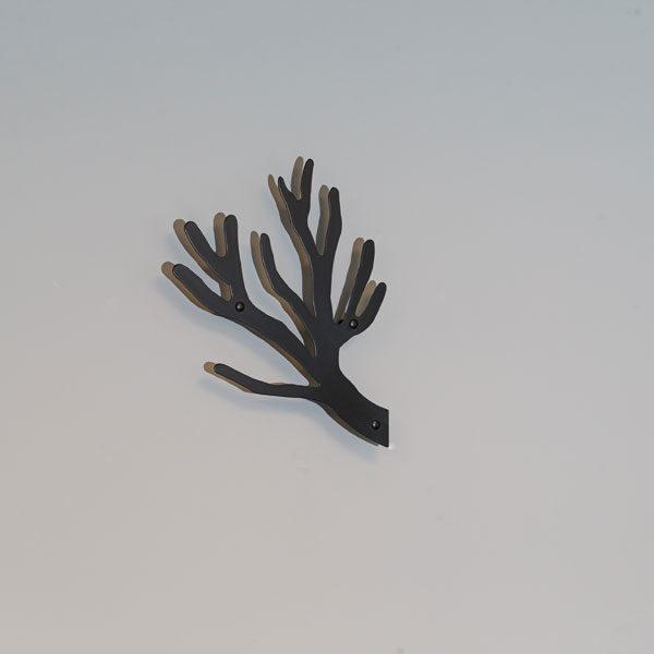 Knag i sort TøjTræet kvist