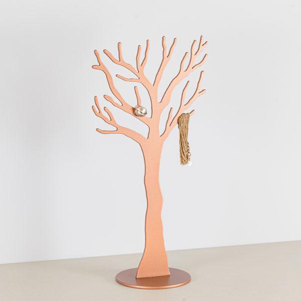 Smykke træ i kobber med smykke