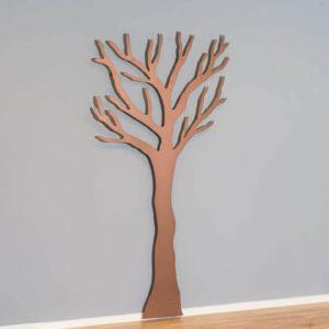 Knagerække kobber tøj træet