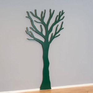 knag grøn træ