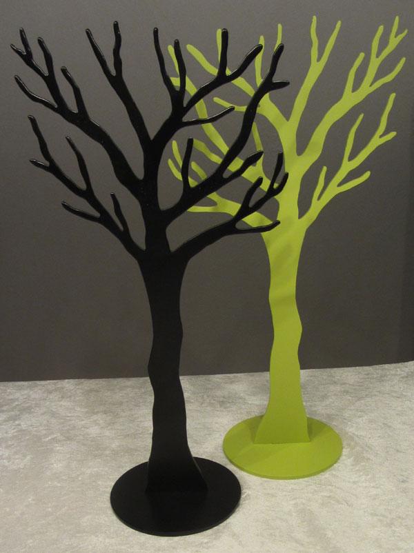 smykketræ sort og grøn