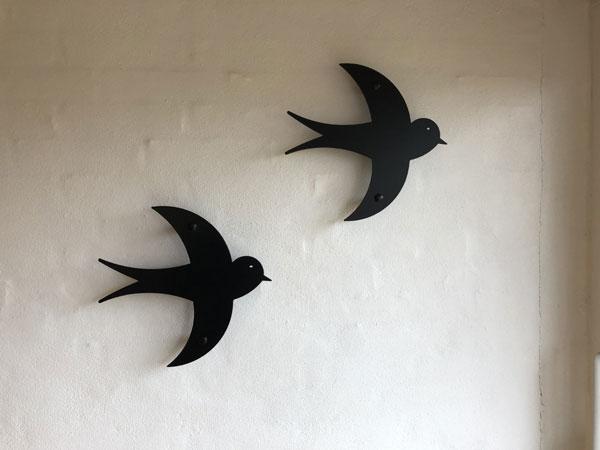fugle monteret